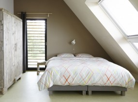 ruime slaapkamer design vakantiewoning