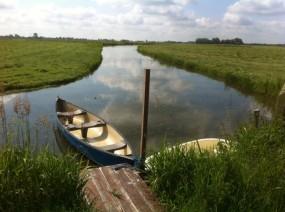 camping aan het water Lauwersmeer