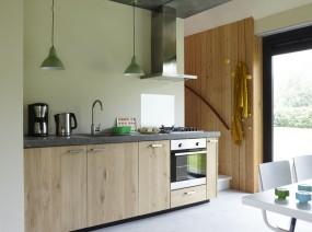 comfortabele keuken design vakantiewoning