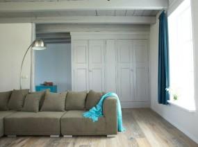 authentiek vakantiehuis Lauwersmeer met sfeervolle opkamer