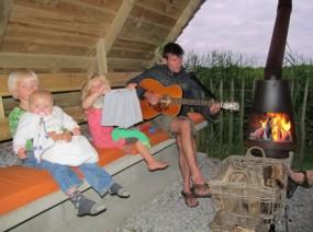 kampvuur natuur camping Friesland