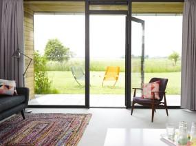 mooi uitzicht vakantiehuis Friesland