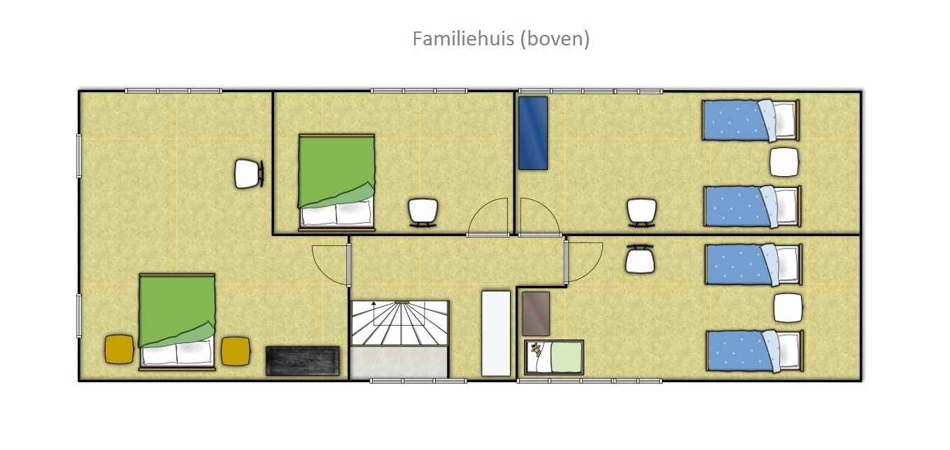 Groundplan Family house Friesland Netherlands