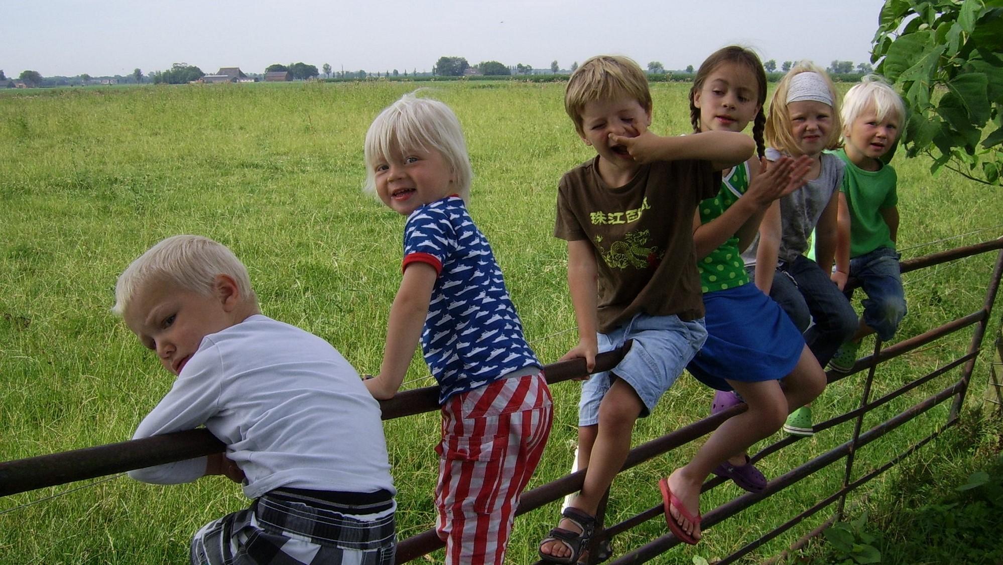 Kinderen familiehuis Friesland