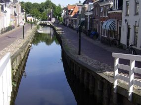 historischen Kollum Friesland Niederlande