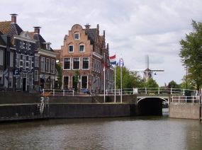 historischen Dokkum Friesland Niederlande