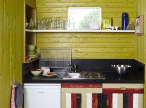 kitchen ecolodge Lauwersmeer Friesland Netherlands