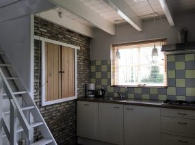 comfortable kitchen with dishwasher holiday home Friesland Netherlands