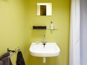 bathroom ecolodge Lauwersmeer Friesland Netherlands