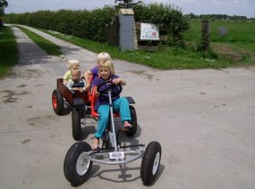 riding the skelter childfriendly camping Friesland Netherlands