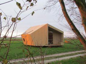 fields around the ecolodge Lauwersmeer Friesland Netherlands