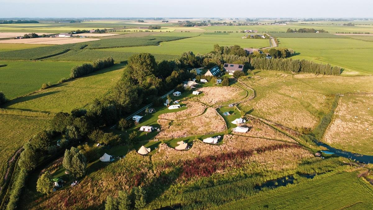 it Dreamlan sitemap green camping minicamping Lauwersmeer Lauwerslake Friesland Holland Netherlands