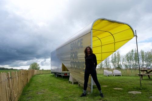Talia Stone Story Station tiny house camping Friesland