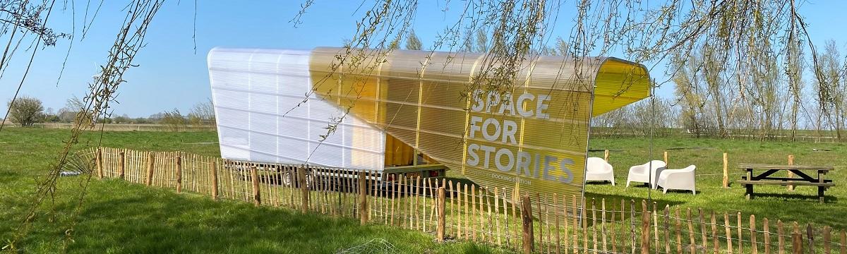 Story Station Natuurkampeerterrein Camping Friesland
