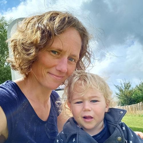 Yvette en Evander Story Station Camping Friesland